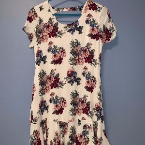 Fun and Flirty Floral Dress